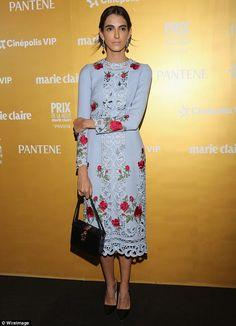 Pretty as a petal:Harper's Bazaar Mexico & Latin America Editorial director, Adma Kawage,...