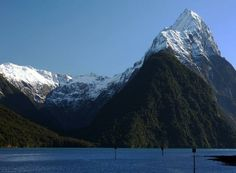 Milford Sound, New Zealand - Click image to find more Travel Pinterest pins