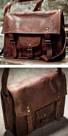 #me Leather satchel...