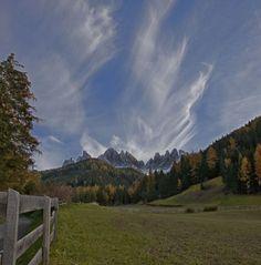 Le Odle in Val di Funes - Alto Adige