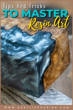 Let's get it straight out of the way: resin is expensive, and the sight of an uneven cure or resin that simply hasn't cured is enough to make any artist furious! Resin can add so much depth and character to your pieces, and the glassy smooth finish is stunning. Do not rush through the mixing and pouring process and be sure to pay attention to your surface, and you'll have a beautifully enhanced work of art! An uneven resin surface or uncured resin can be easily fixed or avoided, here's how! Diy Resin Art, Diy Resin Crafts, Craft Projects For Adults, Art Projects, Resin Pour, Mixed Media Techniques, Resin Tutorial, Acrylic Pouring, Diy Painting