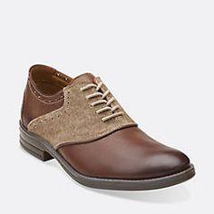 Delsin Ox Black Leather/Black Canvas - Men's Oxford Shoes - Clarks® Shoes - Clarks