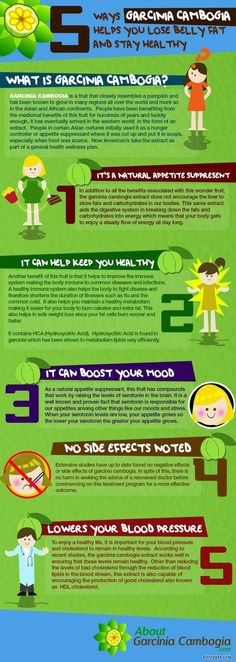 Five Ways garcinia cambogia helps you lose belly fat and stay healthy A fresh dietary supplement is rising in popularity under western culture. It's benefits are defined within the lively info-graphic Ways garcinia cambogia assists you to lose stomach Loose Belly Fat, Lose Tummy Fat, Reduce Belly Fat, Lose Belly, Boost Metabolism, Skinny, Diet Pills, How To Lose Weight Fast, Reduce Weight