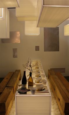 idea for restaurant   david ling   for dining by design, new york 2013