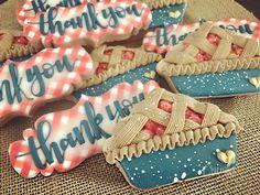 Royal Icing Cookies, Sugar Cookies, Thank You Cookies, Thanksgiving Cookies, Cookie Pie, Chocolate Covered Oreos, Birthday Cookies, Custom Cookies, Sugar Art