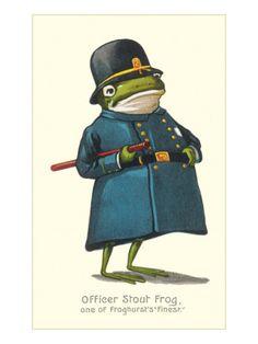 Officer Frog