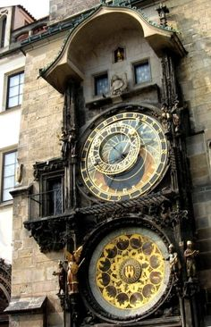 Saw this astronomical clock when i went to Prague last summer, very cool!