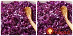 Červená kapusta je plná vitamínov a živín, je to však aj dokonalé príloha k sviatočnému nedeľnému obedu. Ak ju však pripravíte takto, ide o hotové umelecké dielo, ktorému sa len tak niečo nevyrovná! Slovakian Food, Side Dishes, Cabbage, Food And Drink, Vegetables, Recipes, Hampers, Eten, Cooking