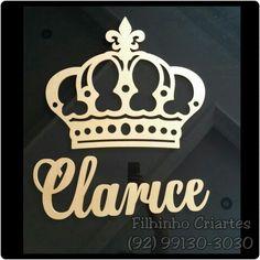 Mais uma coroa para a pequena princesa Clarice.  #artesao #artesanato #artesanatobrasileiro #artesanatomanaus #mdf #mdfdecorado #mdfmanaus #coroa #princesa #rainha #rei #babygirl #clarice #comcarinho #ummimo #naparede #decoracao