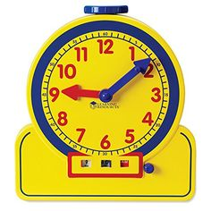 Teaching Clocks - Learning Resources Primary Time Teacher 12Hour Learning Clock ** Read more reviews of the product by visiting the link on the image.