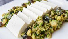 Chilled Tofu with Century Egg & Avocado