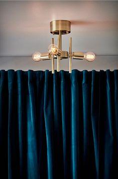 CANBERRA taklampa - Guld - Belysning - Jotex.se Nail Art Studio, Hair Designs, Chandelier, Ceiling Lights, Interior Design, Lighting, Home Decor, Living Room, Nail Artist