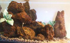 Aquarium Lava Rock  Our New Fire Color  by ThirdPlanetTreasures
