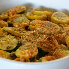 Baked Summer Squash | Sally Cooks