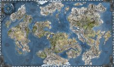 Fantasy Cartography for all your Worldbuilding and RPG needs. This map is free for use, however please note me if you do use it! Download for full file.