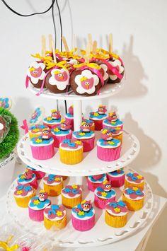 CUTE owl cupcake ideas! Night Owl Sleepover Party via Karas Party Ideas | KarasPartyIdeas.com #night #owl #sleepover #party #ideas #cupcakes