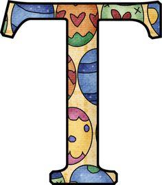 "Photo from album ""Пасхальный on Yandex. Alphabet Print, Monogram Alphabet, Alphabet And Numbers, Heart Wallpaper, Counted Cross Stitch Patterns, Pastel Colors, Digital Image, Initials, Easter"