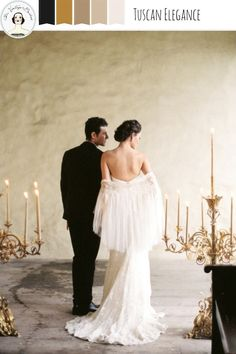 Tuscan Elegance – Refined Wedding Inspiration In An Opulent Palette of Gold and Neutrals