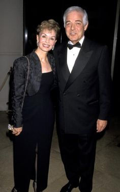 Nina Clooney and Nick Clooney during 7th Annual Ella Lifetime Achievement Award To Rosemary Clooney at Beverly Hilton Hotel in Beverly Hills, California, United States. 10/05/1998