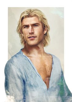 """Envisioning Disney Guys in """"Real Life"""" on Behance.  John Smith from Pocahontas"""