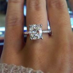 Most Popular Engagement Ring On Pinterest More