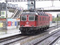 Commuter Train, Swiss Railways, Electric Locomotive, Transportation
