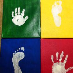 Art for the boys playroom!