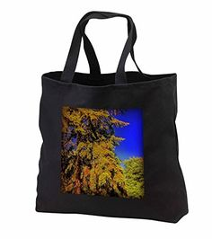 "DYLAN SEIBOLD - PHOTOGRAPHY - CLOSE UP OF TREES - Tote Bags Be the first to review this item   Price:	$28.74 Sale:	$26.44 + $5.71 shipping You Save:	$2.30 (8%) Size:   In Stock. Get it as fast as Oct. 11 - 14. Ships from and sold by 3dRose LLC. 100% cotton twill Dual cotton web handles (19.5"") Custom image affixed to durable, heavy-duty cotton twill material Jumbo tote available in black only Standard tote available in black or denim"