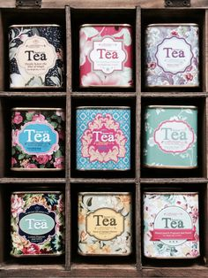 """The perfect temperature for tea is two degrees hotter than just right. Tea Packaging, Packaging Design, Tea Tins, Tea Box, In Vino Veritas, My Cup Of Tea, Tea Recipes, Vintage Tea, High Tea"
