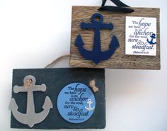Anchor Verse Plaque The hope we have is an anchor for by WordofGod, $12.75