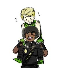 "Lloyd and Cole piggy back ride (love the style) <<<SAAAAAAAAAAME Super cute and Lloyd's just like, ""Cole. I- um- grew."" ---The art style is just so adorable! Little Kid Shows, Kids Shows, Lloyd Ninjago, Lego Ninjago, Sunshine In My Pocket, Piggy Back Ride, Treasure Planet, Pose Reference, Disney Movies"