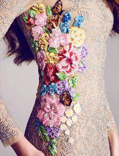 Details - Hamda Al Fahim S/S 2013 Haute Couture