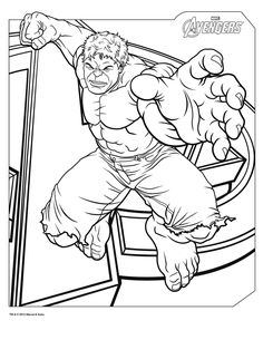 1000 images about coloriage on pinterest mandalas hulk avengers and avengers - Coloriage hulk ...