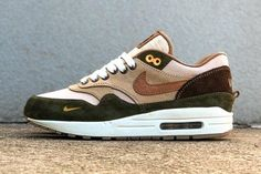 hot sale online 34ddd 9308f Sneakers Nike   BespokeIND Unveils a Carhartt WIP-Inspired Nike Air Max 1  Custom