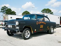 55 chevy gasser by fiftyfivebomber, via Flickr