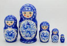 Authentic Russian  Nesting dolls