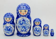 Authentic Russian  Nesting dolls