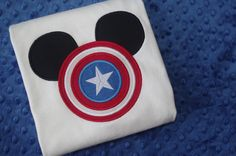 Captain America  Marvel Super Heroes with Mickey Mouse by LivieQ