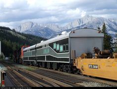 RailPictures.Net Photo: IC 800653 Illinois Central Railroad Business Car at Jasper, Alberta, Canada by Tim Stevens