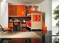 DECORACION DE RECAMARAS JUVENILES INFANTILES TIPO LOFT : DORMITORIOS: decorar dormitorios fotos de habitaciones recámaras diseño y decoración