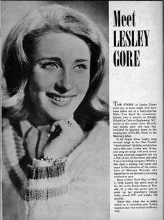 Lesley Gore - 16 Magazine - October 1963 - p60 Muse Music, Lesley Gore, Vintage Magazines, Bands, October, Inspiration, Biblical Inspiration, Band, Band Memes