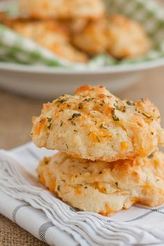 Scratch Cheddar Bay Biscuits