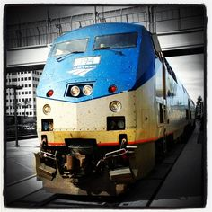 Many thanks to Instagram users @csmyers98 for sharing this picture of one of our Amtrak trains.