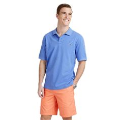 Vineyard Vines Classic Pique Polo in Indigo