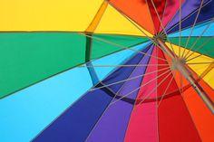 Umbrellas. Ellas. Ellas. Eh. Eh. Eh.   26 Things That Look Better Thanks To Rainbows