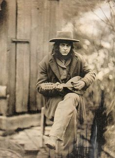 "Jack White as Georgia in one of my favorite movies, ""Cold Mountain""."