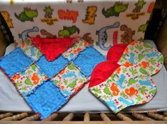 Hey, I found this really awesome Etsy listing at https://www.etsy.com/listing/188211828/matching-set-of-blankies-and-cotton