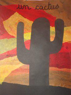Cactus dans ledésert