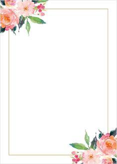 Baby Shower Invitation Background Fresh Standing Ovation Foil Wedding Invitations In 2019 Wedding Invitation Background, Foil Wedding Invitations, Wedding Background, Floral Invitation, Background Vintage, Shower Invitation, Invites, Flower Backgrounds, Flower Wallpaper