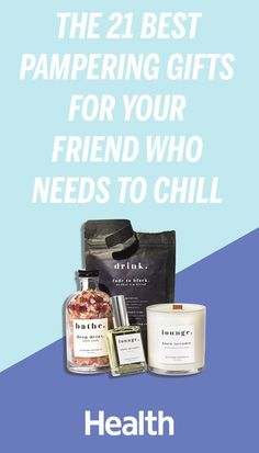We all need to unwind, and these gifts make it that much easier to do so. Give one—or more—to a friend who wants some relaxation in her life (which really is just about everyone!). #giftguide #holidays #christmas #shopping | Health.com